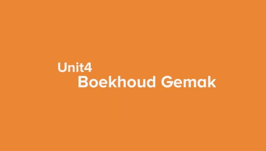 Unit 4 Boekhoudgemak